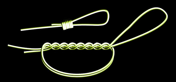 fishing knots and rigs. saltwater fishing knot