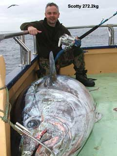 I killed a huge fish, Im awesome from fishingkites.co.nz