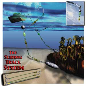 The sliding trace fishing rig for Cod fishing rigs